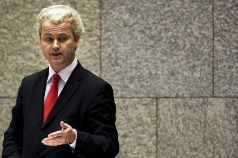PVV-leider Geert Wilders is donderdagochtend zonder problemen Italië binnengekomen. Dat heeft hij laten weten. ANP Photo Beeld