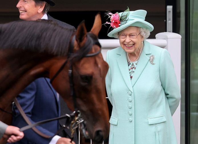 Ratu Elizabeth II di Royal Ascot 2021