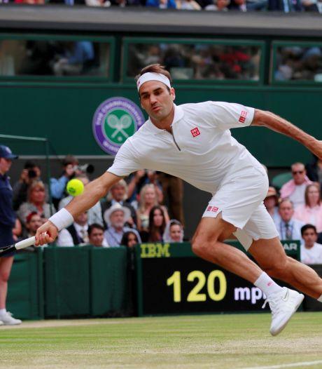 Roger Federer brengt vandaag het tennis weer tot leven