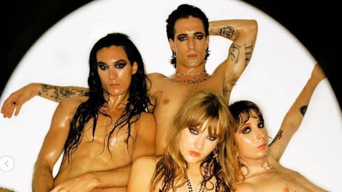 Le groupe Måneskin se met à nu pour la sortie de son nouveau single