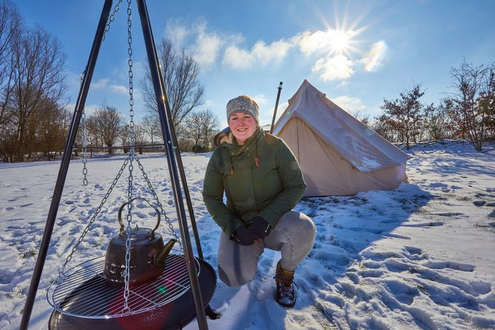 Manon Hollink begint in maart in Nettelhorst camping Oetdoor. ,,Ik heb er veel zin in. De boekingen beginnen nu al binnen te druppelen, dit gaat wel wat worden.''