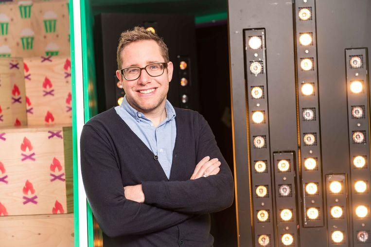 Maarten Janssen ruilt de openbare omroep voor VTM. Beeld © VRT 2012 - Joost Joossen