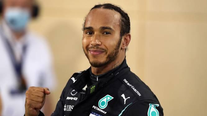 """Herstelde Hamilton wil erbij zijn in slotrace in Abu Dhabi: """"Ik voel me goed"""""""
