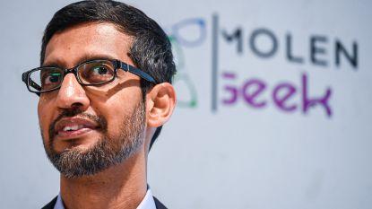 Topman Google in Molenbeek met cheque van 200.000 euro