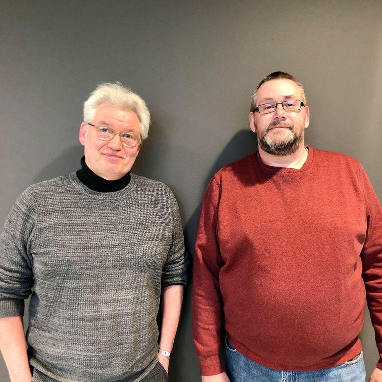 René van der Most en Alex Schepel Beeld