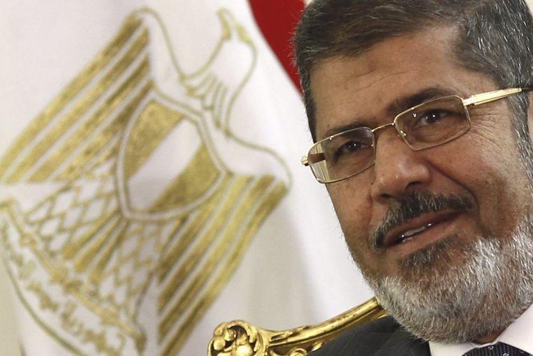 Mohamed Morsi. Beeld REUTERS