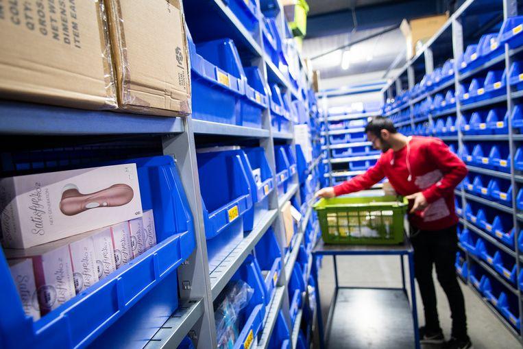 EDC in Veendam, moederbedrijf van onder meer webshop EasyToys, boekte over 2020 een recordomzet van 65 miljoen euro. Beeld Hollandse Hoogte