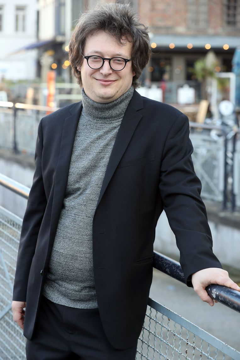 Poëziecentrum-directeur Carl De Strycker: 'Visionair.' Beeld Kristof Ghyselinck