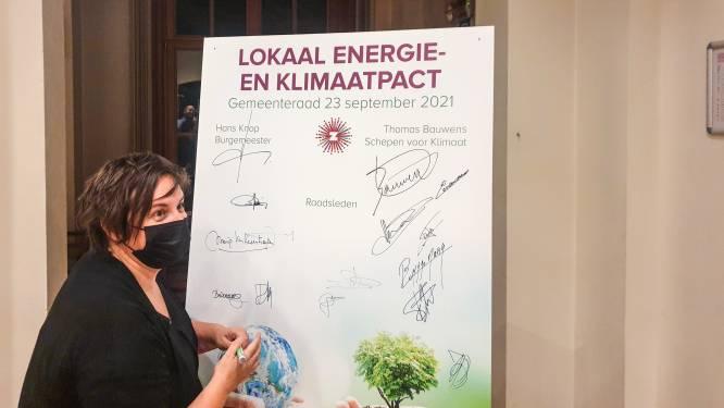 Gemeenteraadsleden ondertekenen klimaatpact