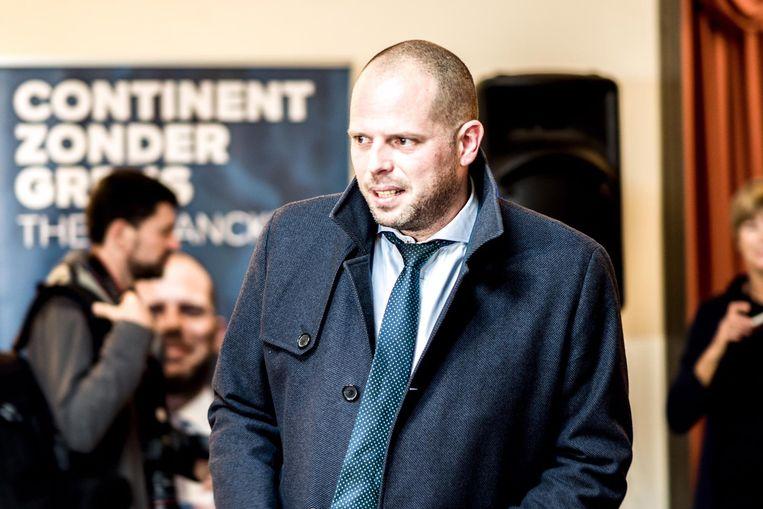 Theo Francken blikte vanmorgen terug op de voorbije weken en op de totstandkoming van het migratiepact. Beeld Tine Schoemaker
