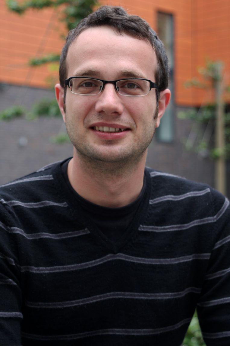 Nicolas Bouteca, politoloog (UGent). Beeld RV