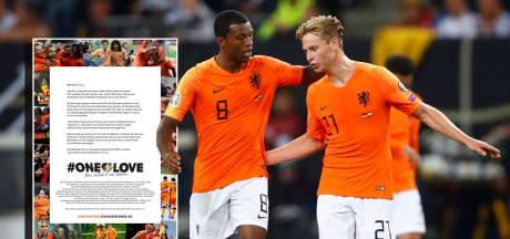 KNVB benadrukt in open brief voorbeeldfunctie Nederlands elftal