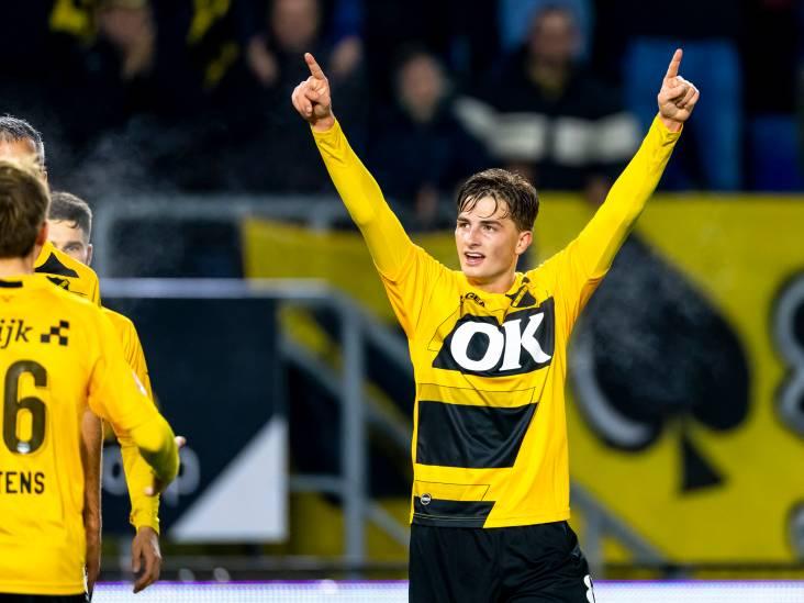 Van Schuppen had zelfs kippenvel in z'n gezicht: 'Mijn eerste goal in het Rat Verlegh, fantastisch'