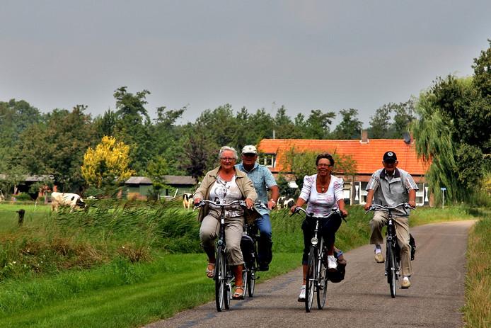 De organisatie hoopt weer op zo'n 500 deelnemers bij de Eibergse Fietsdagen.