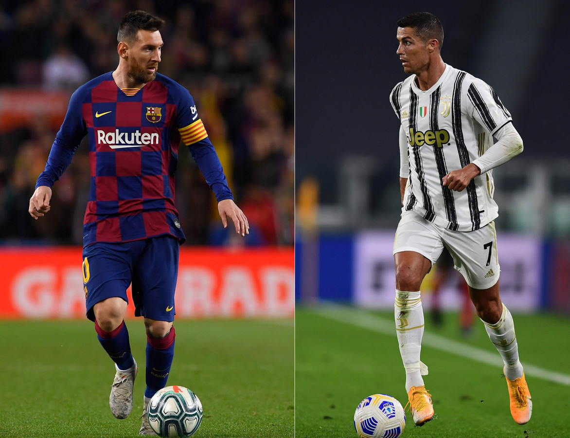 Lionel Messi en Cristiano Ronaldo.