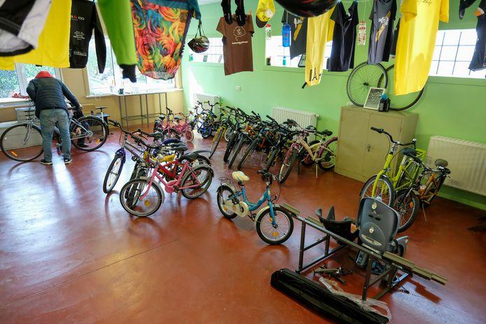 In Meise is de langverwachte fietsbieb zaterdag geopend.
