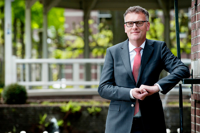 Burgemeester Hans Janssen van Oisterwijk.
