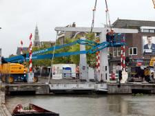 Tot over een paar maanden: Lijndraaiersbrug afgevoerd voor groot onderhoud