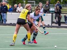 Vrouwen van DHV nog altijd zonder puntverlies, tevredenheid bij Zutphense hockeysters ondanks nederlaag