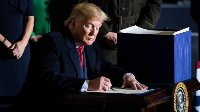 """Trump geeft groen licht voor Space Force: """"Amerikaanse dominantie in de ruimte absoluut essentieel"""""""