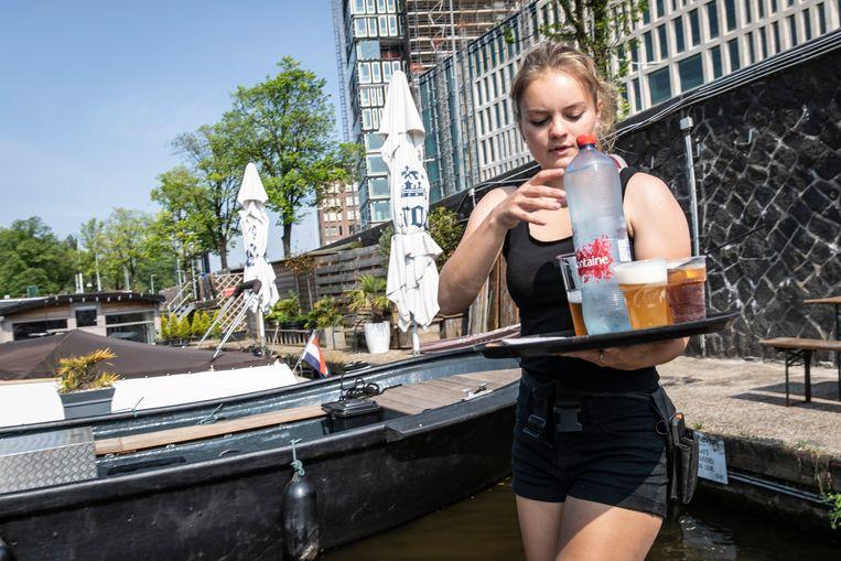 Amstelhaven. Beeld Dingena Mol