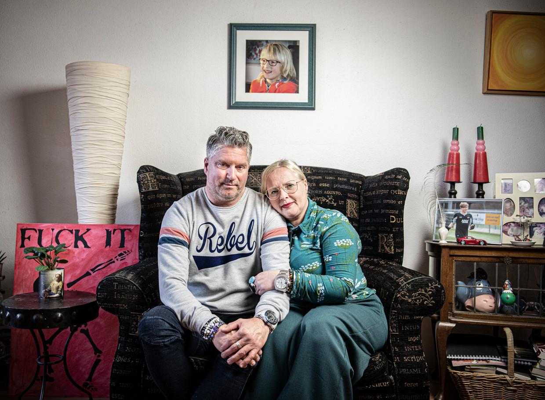 Jeroen en Frieda  Zijp. Beeld Koen Verheijden