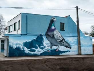 Prijsduif verkozen tot negende beste muurschildering van het land