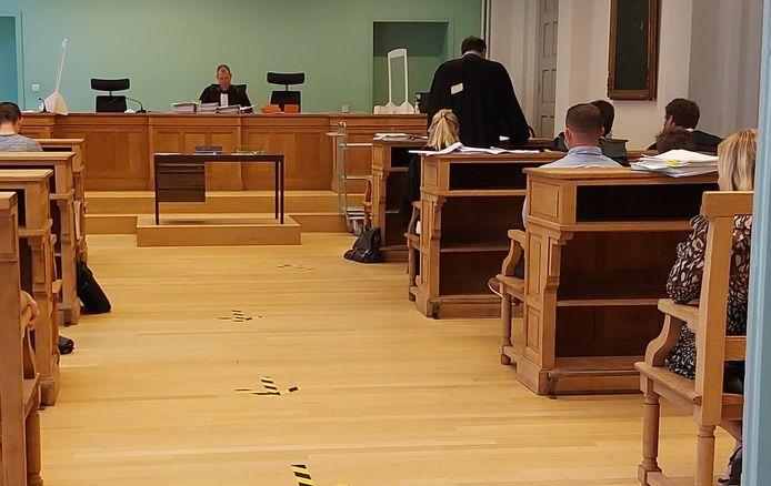 De pleidooien namen heel wat tijd in beslag op de rechtbank van Ieper.