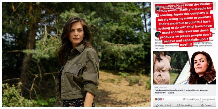 Astrid Coppens is het slachtoffer van fake news