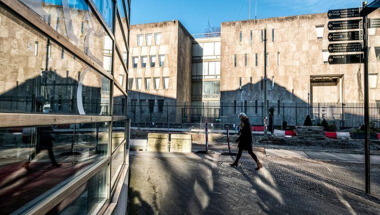 De Amerikaanse ambassade van Marcel Breuer uit 1959 in Den Haag. Beeld Raymond Rutting/ de Volkskrant