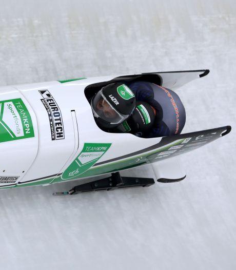 Bredanaar Franjic wil in een bobslee van de olympische baan af: 'Dan zouden de tranen bij mij rollen'