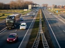 Als de limiet op snelwegen teruggaat, volgen de wegen in de provincie Gelderland