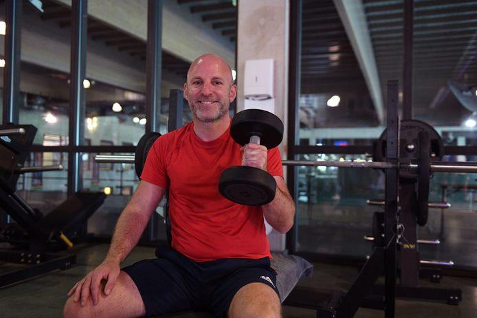 Steven (40) Fitness Sportoase Leuven opent weer.