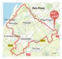 Route Westlandmarathon op 2 mei 2021