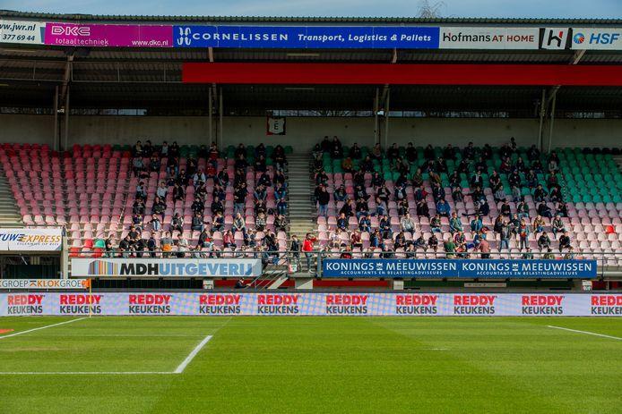 NEC speelde in februari tegen De Graafschap voor ruim duizend man publiek als onderdeel van een Fieldlab-proef.