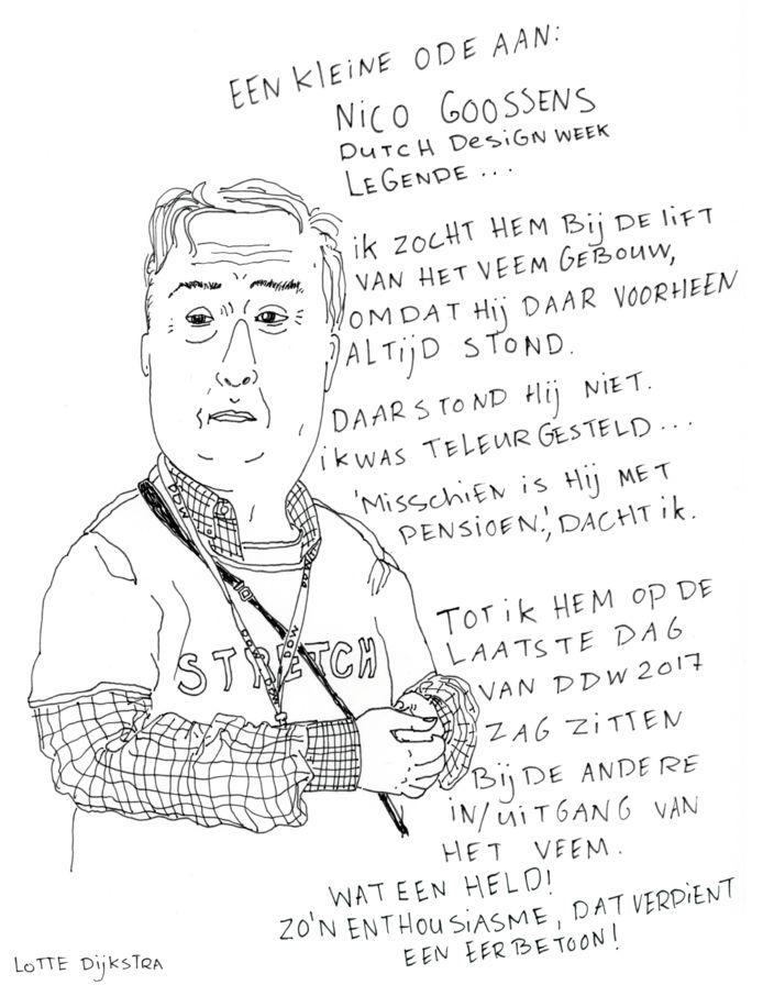 Een kleine ode aan Nico Goossens.
