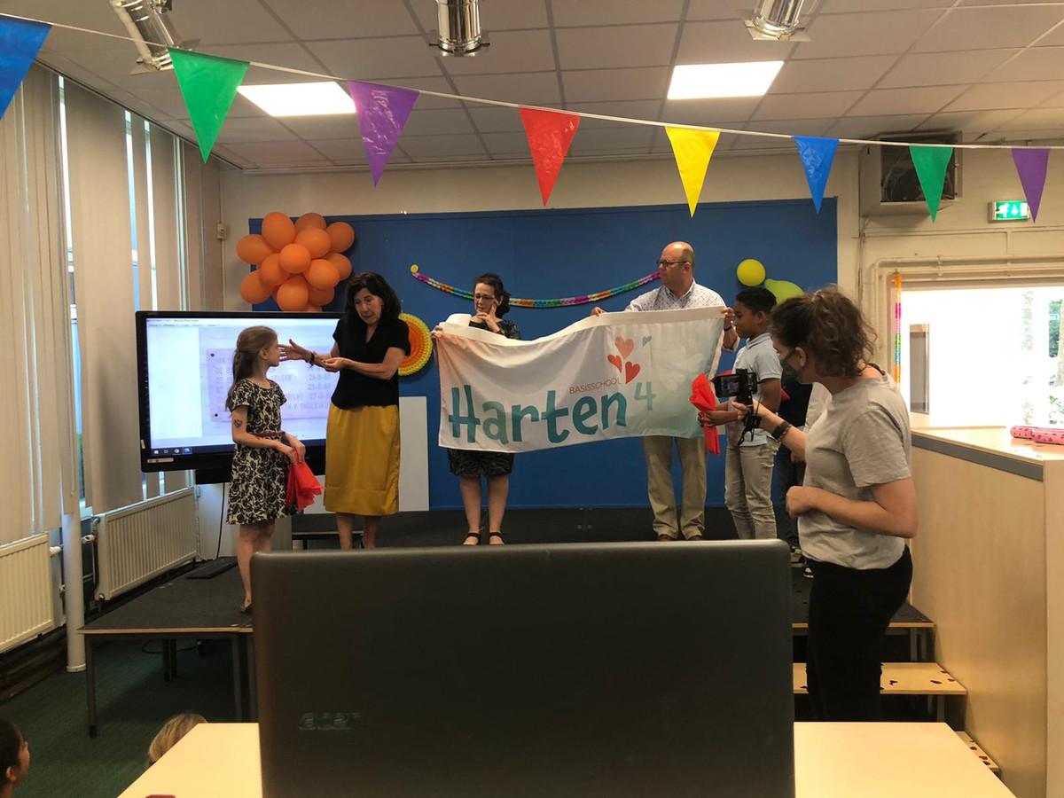 De Prins Bernardschool in Tilburg gaat vanaf 1 juli als Harten4 door het leven