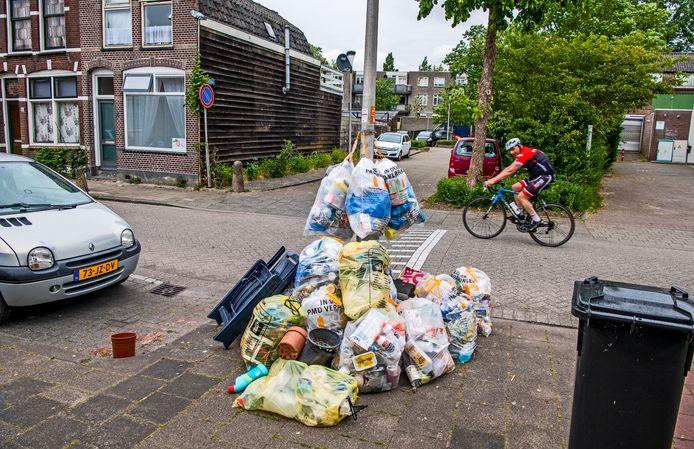 De afvalkwestie in de stad blijft onderwerp van de dag, er lijkt geen einde aan te komen. Archieffoto ter illustratie.