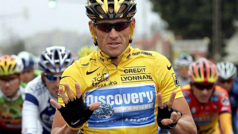Lance Armstrong. Beeld epa