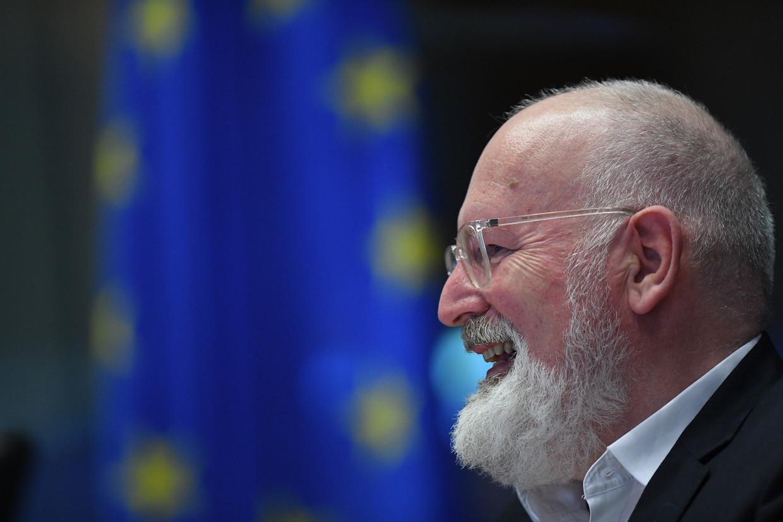 Vicevoorzitter van de Europese Commissie Frans Timmermans. Beeld BELGA