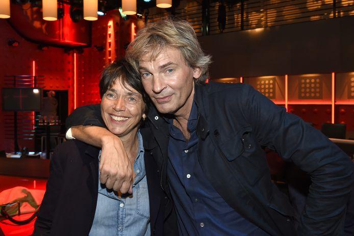 Matthijs van Nieuwkerk en Karin van Munster.