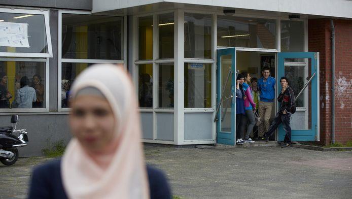 De IBN Ghaldounschool in Rotterdam.