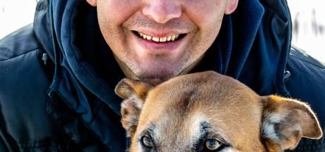 Arnoud showt hond op deze site, drie weken later stuurt wildvreemde prachtig portret van Rex