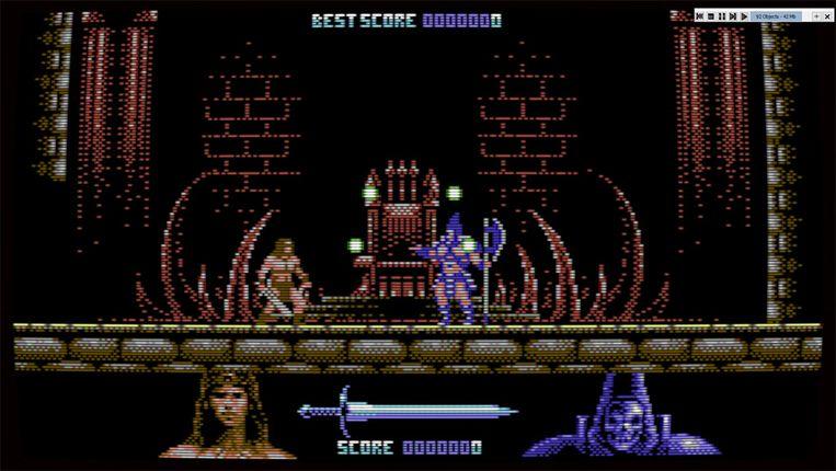 Retrogame 'Black Jewel' is een hommage aan Commodore 64-klassiekers. Beeld Oscar Celestini Retrogames