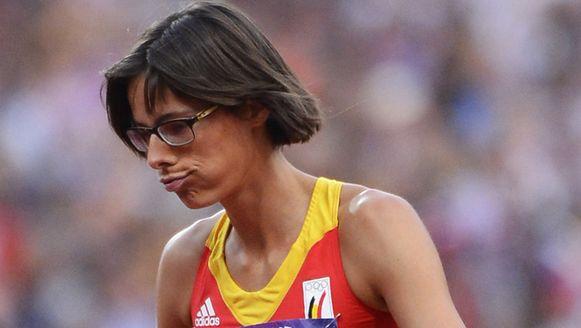 Tia Hellebaut na haar mislukte pogingen op 2 meter