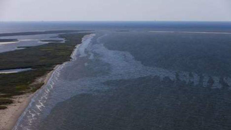 Gelekte olie bereikt de Amerikaanse kust. ANP Beeld