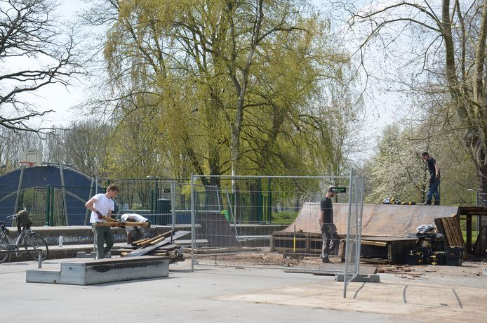 De afbraak van het oude skatepark in Ninove is van start gegaan.