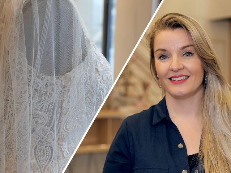 Bruidswinkel ontvangt met grote vreugde haar eerste klanten weer: 'Ik ben zó blij!'