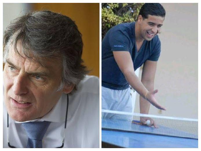 Guido Dumarey en Issam Zizaoui.