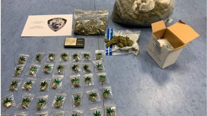 15 kilo cannabis ontdekt bij inval in Pelt